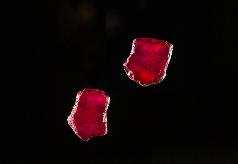 Gemfields Mozambican Ruby Matching Pair