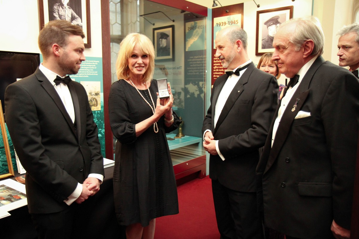Joanna Lumley – Jeremy France Jewellers