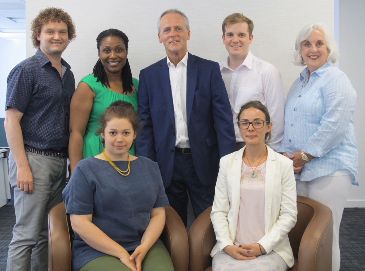 RJC Team with Andrew Bone, new ED – 30 June 2015