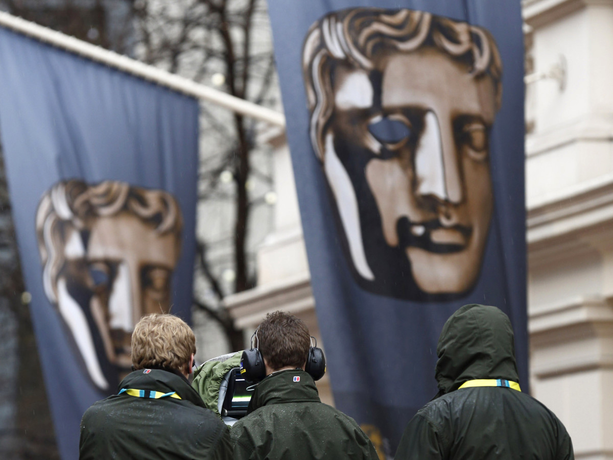 BRITAIN-ENTERTAINMENT-FILM-AWARDS-BAFTA-PREPARATION
