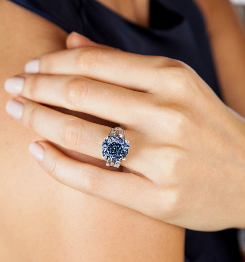 Sotheby's To Auction The Shirley Temple Blue Diamond