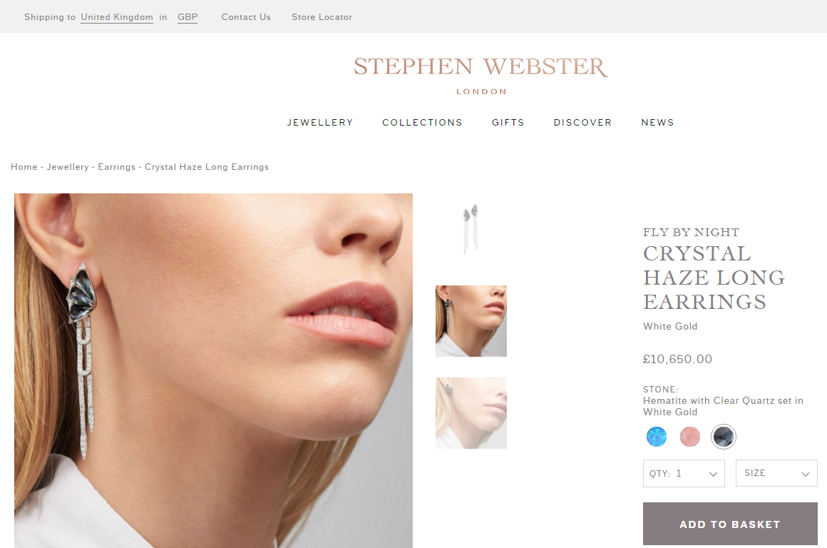 94eb66ebaf1f Stephen Webster opens transactional online jewellery store ...