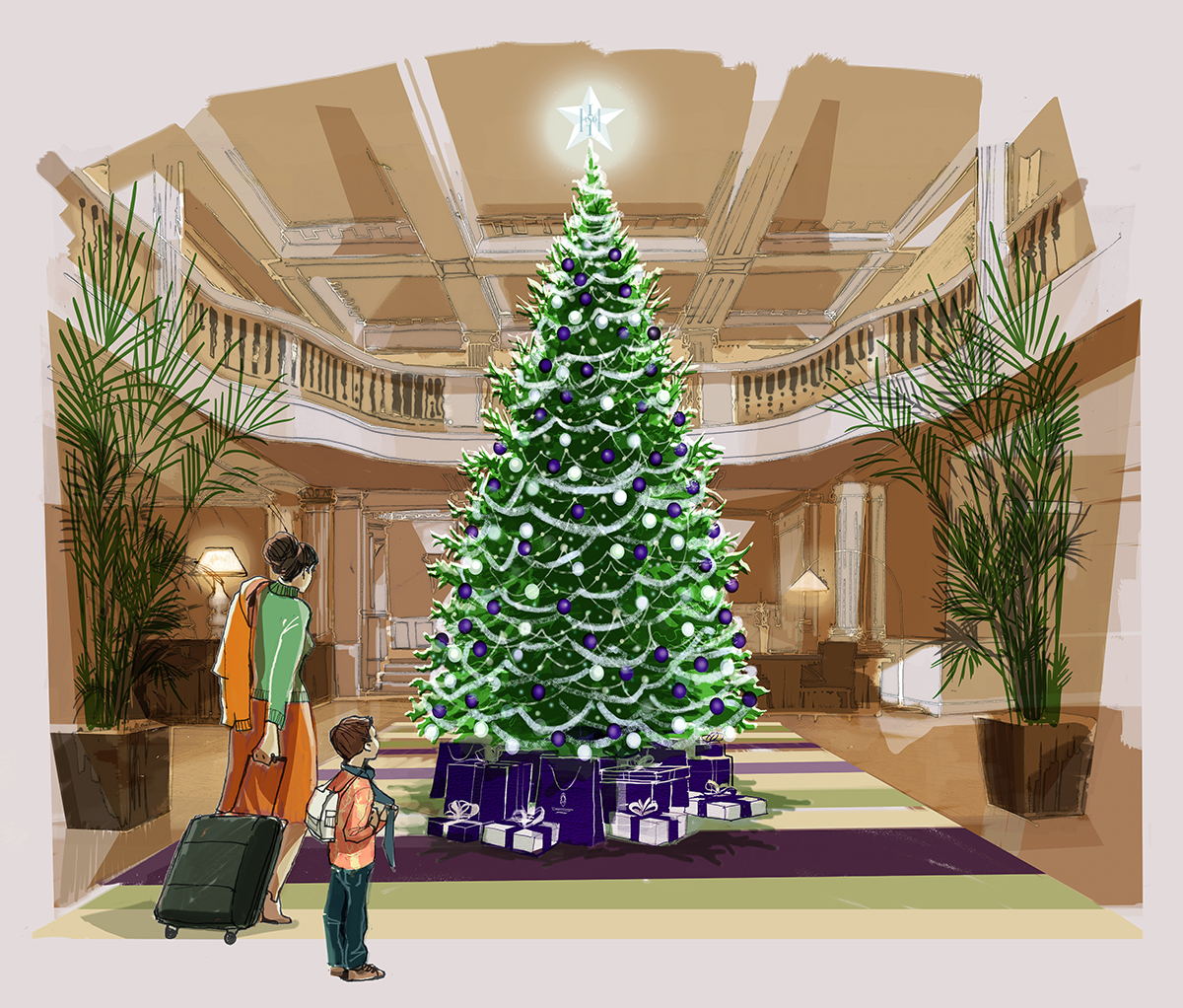 the-hamilton-inches-advent-tree-at-the-balmoral-illustration