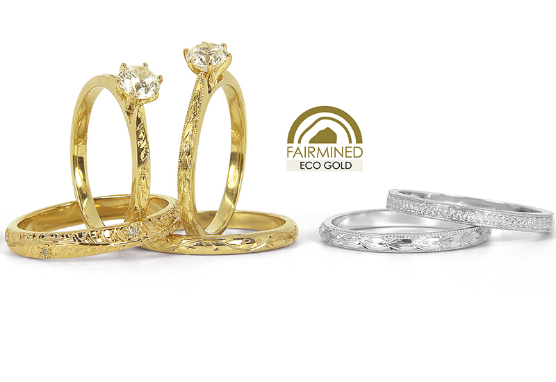 ALebrusan. Engraved in your heart ECO mix metals