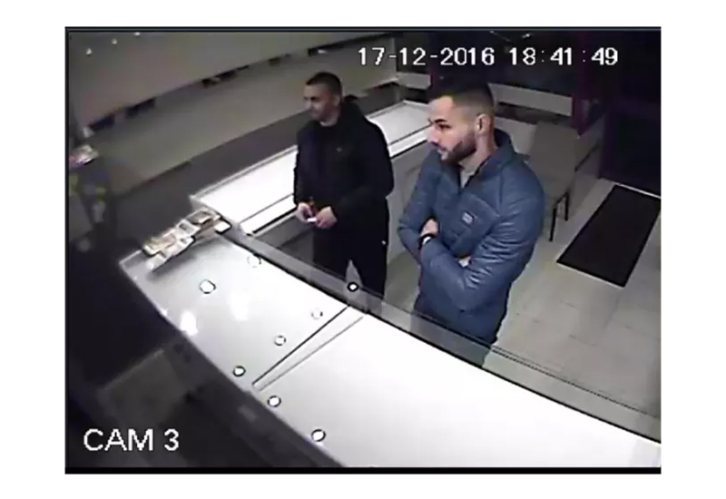 turquouse jewellers cctv met police