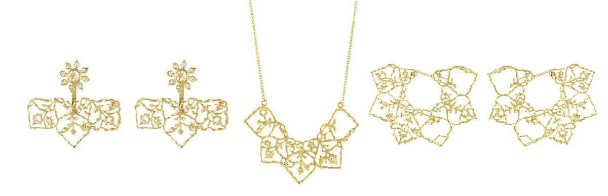 Natalie Perry Jewellery, Floral Fragments selection 1
