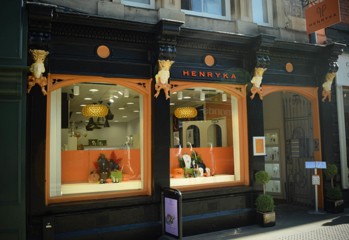 Henryka Store Redesign in Hereford – October 2017