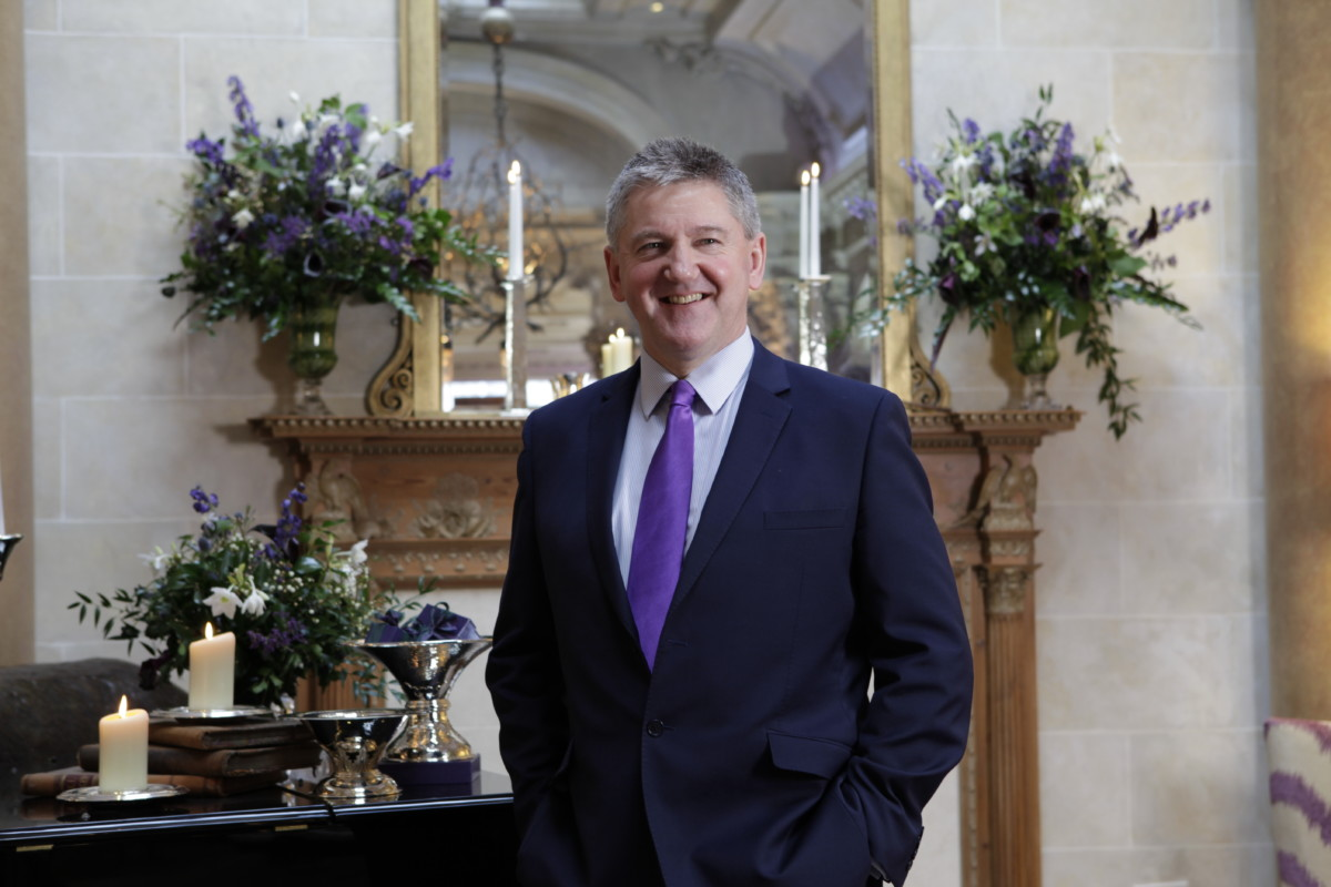 Stephen Paterson, Chief Executive of Hamilton & Inches
