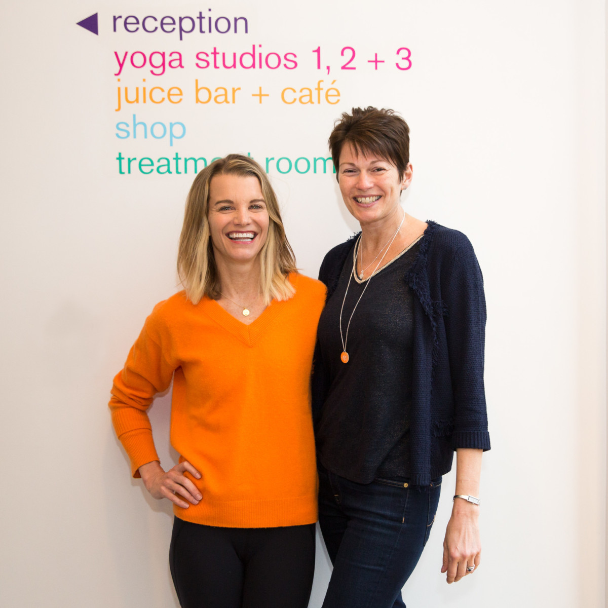Julie Montagu with Mantra Founder, Jo Stroud