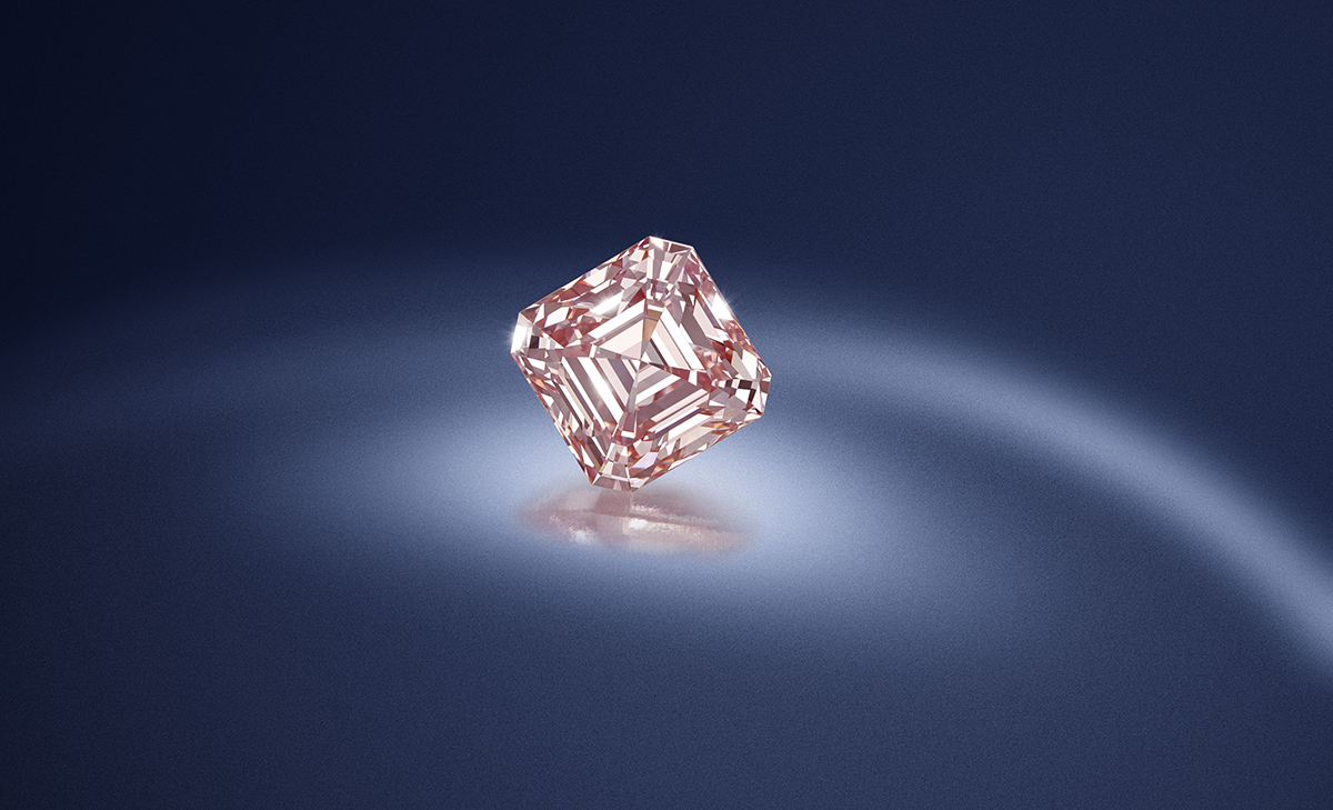Lot 139, A fine fancy pink diamond, £600,000 – £800,000