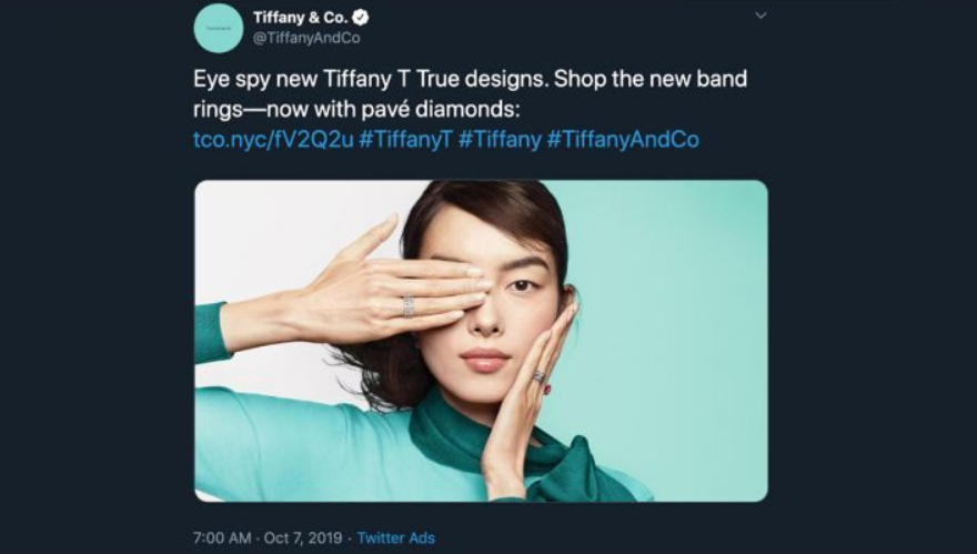 Tiffany removes ad after Chinese customers accuse brand of supporting Hong Kong protesters
