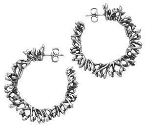 10819_Berries Hoop Earrings