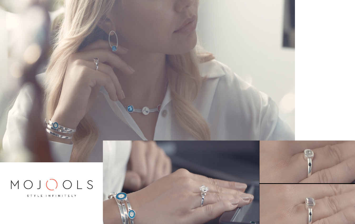 Mojools groundbreaking jewel type brings infinite customisation in fine jewellery